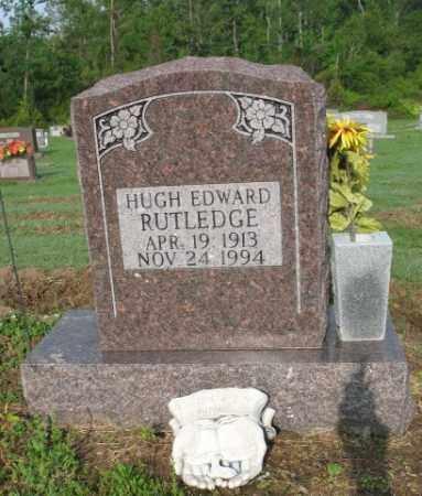 RUTLEDGE, HUGH EDWARD - Jackson County, Arkansas | HUGH EDWARD RUTLEDGE - Arkansas Gravestone Photos