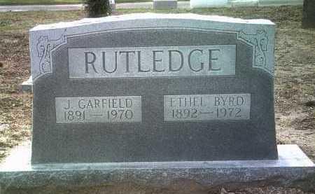RUTLEDGE, J GARFIELD - Jackson County, Arkansas | J GARFIELD RUTLEDGE - Arkansas Gravestone Photos