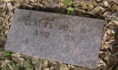 YOUNG SANDERSON, GLADYS - Jackson County, Arkansas | GLADYS YOUNG SANDERSON - Arkansas Gravestone Photos