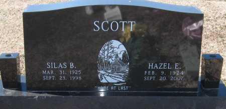 SCOTT, SILAS B - Jackson County, Arkansas | SILAS B SCOTT - Arkansas Gravestone Photos