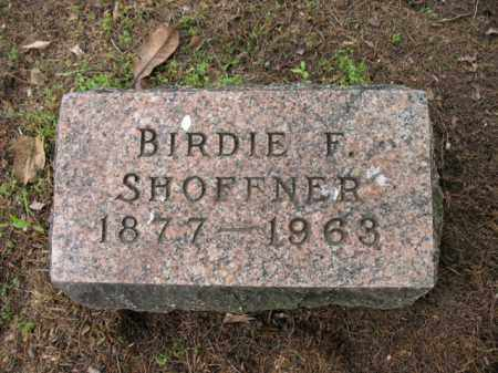 SHOFFNER, BIRDIE F - Jackson County, Arkansas | BIRDIE F SHOFFNER - Arkansas Gravestone Photos