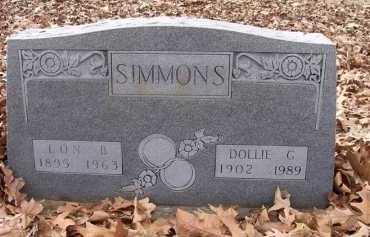 SIMMONS, LON BOWEN - Jackson County, Arkansas | LON BOWEN SIMMONS - Arkansas Gravestone Photos