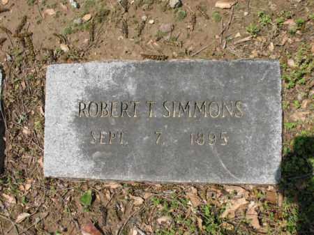 SIMMONS, ROBERT T - Jackson County, Arkansas | ROBERT T SIMMONS - Arkansas Gravestone Photos