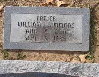 SIMMONS, WILLIAM LAFAYETTE - Jackson County, Arkansas | WILLIAM LAFAYETTE SIMMONS - Arkansas Gravestone Photos