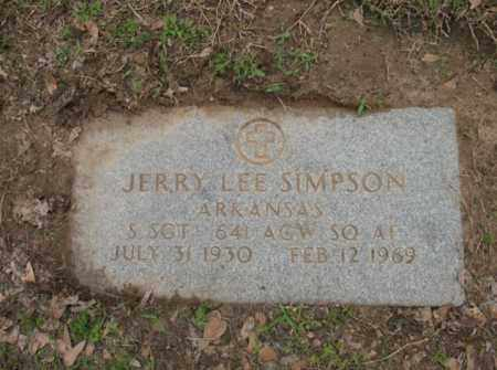 SIMPSON (VETERAN), JERRY LEE - Jackson County, Arkansas | JERRY LEE SIMPSON (VETERAN) - Arkansas Gravestone Photos
