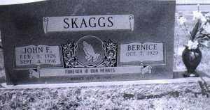 SKAGGS, JOHN F - Jackson County, Arkansas   JOHN F SKAGGS - Arkansas Gravestone Photos