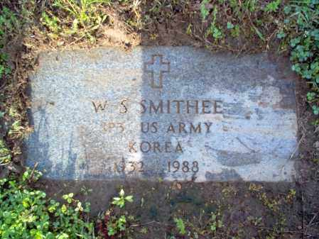 SMITHEE (VETERAN KOR), WILLIAM S - Jackson County, Arkansas | WILLIAM S SMITHEE (VETERAN KOR) - Arkansas Gravestone Photos