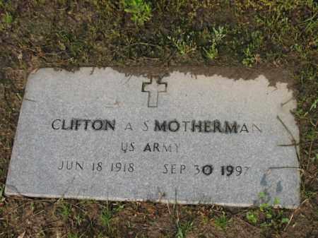 SMOTHERMAN (VETERAN), CLIFTON A - Jackson County, Arkansas   CLIFTON A SMOTHERMAN (VETERAN) - Arkansas Gravestone Photos