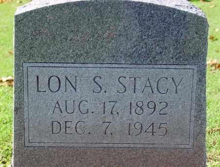 STACY, LON S - Jackson County, Arkansas | LON S STACY - Arkansas Gravestone Photos