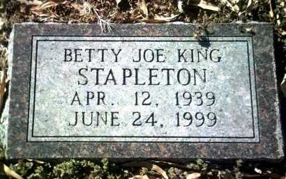 STAPLETON, BETTY JOE - Jackson County, Arkansas | BETTY JOE STAPLETON - Arkansas Gravestone Photos