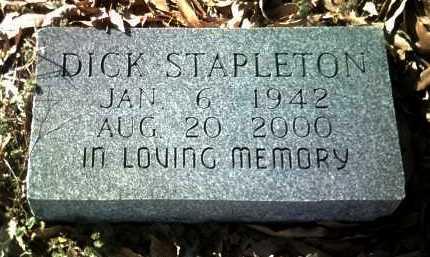 STAPLETON, DICK - Jackson County, Arkansas | DICK STAPLETON - Arkansas Gravestone Photos