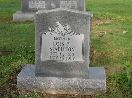 STAPLETON, LOIS P - Jackson County, Arkansas   LOIS P STAPLETON - Arkansas Gravestone Photos