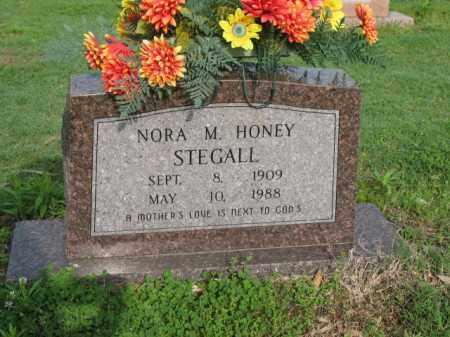 HONEY STEGALL, NORA M - Jackson County, Arkansas | NORA M HONEY STEGALL - Arkansas Gravestone Photos