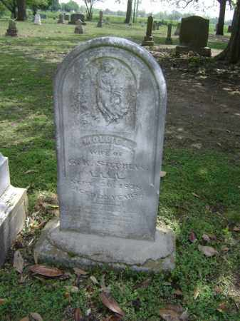 STEPHENS, MOLLIE A - Jackson County, Arkansas | MOLLIE A STEPHENS - Arkansas Gravestone Photos