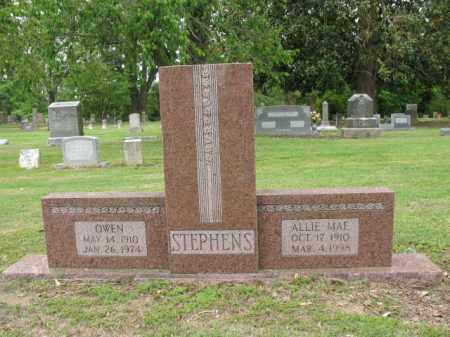 STEPHENS, ALLIE MAE - Jackson County, Arkansas | ALLIE MAE STEPHENS - Arkansas Gravestone Photos