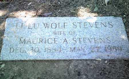 STEVENS, LULU - Jackson County, Arkansas   LULU STEVENS - Arkansas Gravestone Photos