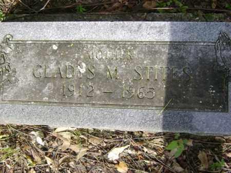 STITES, GLADYS M - Jackson County, Arkansas   GLADYS M STITES - Arkansas Gravestone Photos