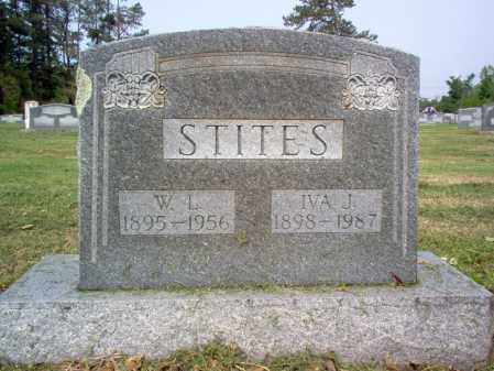 STITES, IVA J - Jackson County, Arkansas | IVA J STITES - Arkansas Gravestone Photos