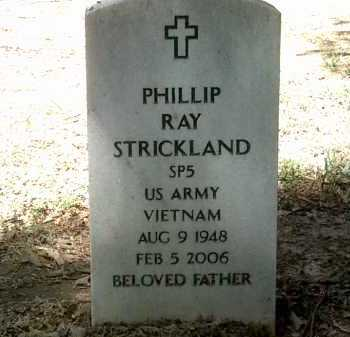 STRICKLAND (VETERAN VIET), PHILLIP RAY - Jackson County, Arkansas | PHILLIP RAY STRICKLAND (VETERAN VIET) - Arkansas Gravestone Photos