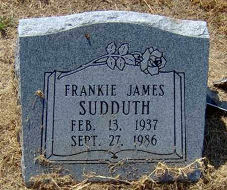 "SUDDUTH, FRANKLIN ""FRANKIE"" JAMES - Jackson County, Arkansas 