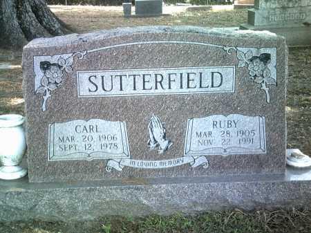 SUTTERFIELD, CARL - Jackson County, Arkansas | CARL SUTTERFIELD - Arkansas Gravestone Photos