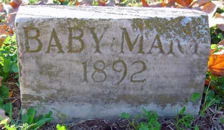 SWEARINGER, BABY MARY - Jackson County, Arkansas | BABY MARY SWEARINGER - Arkansas Gravestone Photos