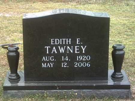 TAWNEY, EDITH E - Jackson County, Arkansas | EDITH E TAWNEY - Arkansas Gravestone Photos