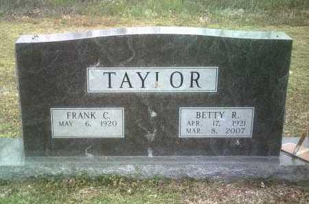 TAYLOR, BETTY R - Jackson County, Arkansas | BETTY R TAYLOR - Arkansas Gravestone Photos