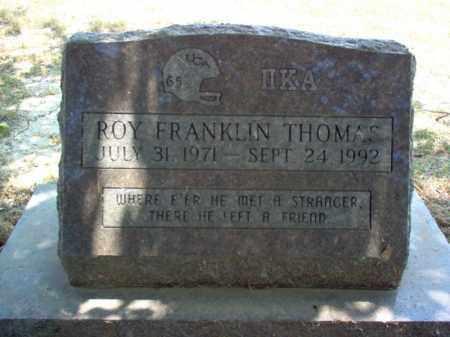 THOMAS, ROY FRANKLIN - Jackson County, Arkansas | ROY FRANKLIN THOMAS - Arkansas Gravestone Photos