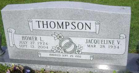 THOMPSON, HOMER L - Jackson County, Arkansas | HOMER L THOMPSON - Arkansas Gravestone Photos