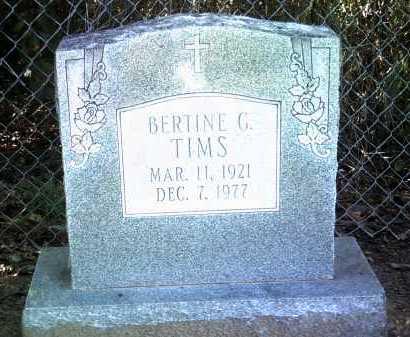 TIMS, BERTINE G - Jackson County, Arkansas   BERTINE G TIMS - Arkansas Gravestone Photos