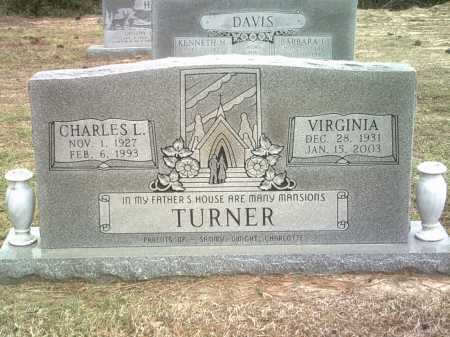 TURNER, VIRGINIA - Jackson County, Arkansas | VIRGINIA TURNER - Arkansas Gravestone Photos