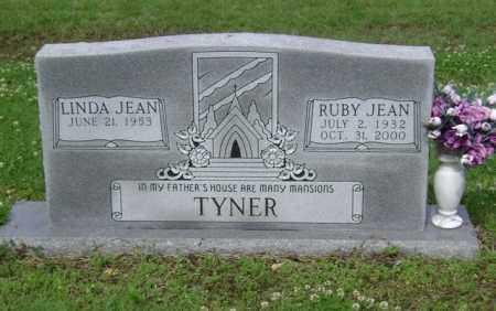 TYNER, RUBY JEAN - Jackson County, Arkansas | RUBY JEAN TYNER - Arkansas Gravestone Photos