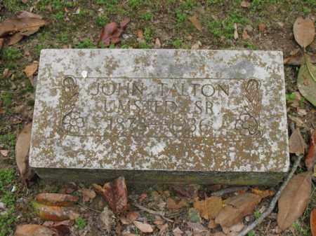 UMSTED, SR, JOHN TALTON - Jackson County, Arkansas | JOHN TALTON UMSTED, SR - Arkansas Gravestone Photos