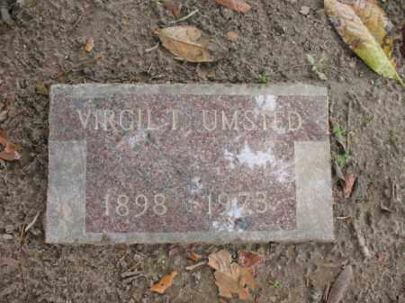 UMSTED, VIRGIL T - Jackson County, Arkansas | VIRGIL T UMSTED - Arkansas Gravestone Photos