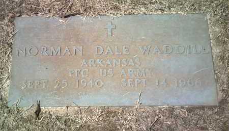 WADDILL (VETERAN), NORMAN DALE - Jackson County, Arkansas | NORMAN DALE WADDILL (VETERAN) - Arkansas Gravestone Photos