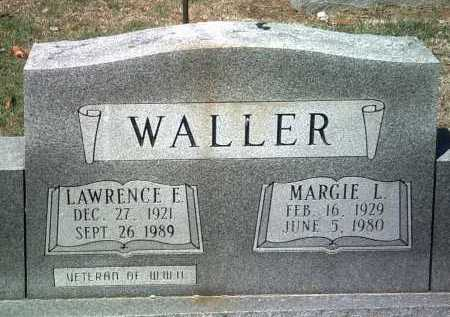 WALLER, LAWRENCE E - Jackson County, Arkansas | LAWRENCE E WALLER - Arkansas Gravestone Photos