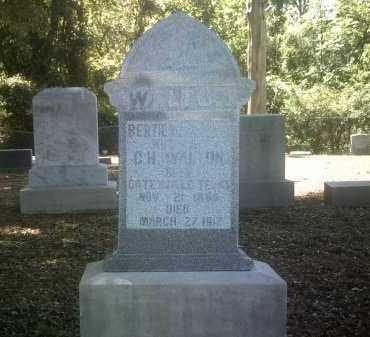 DARLING WALTON, BERTIE - Jackson County, Arkansas | BERTIE DARLING WALTON - Arkansas Gravestone Photos