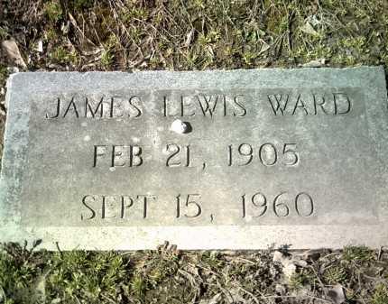 WARD, JAMES LEWIS - Jackson County, Arkansas   JAMES LEWIS WARD - Arkansas Gravestone Photos