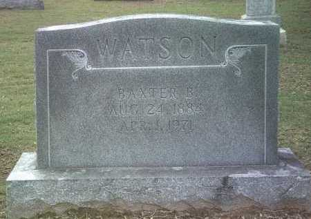 WATSON, BAXTER B - Jackson County, Arkansas | BAXTER B WATSON - Arkansas Gravestone Photos