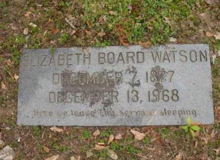 WATSON, ELIZABETH BOARD - Jackson County, Arkansas | ELIZABETH BOARD WATSON - Arkansas Gravestone Photos