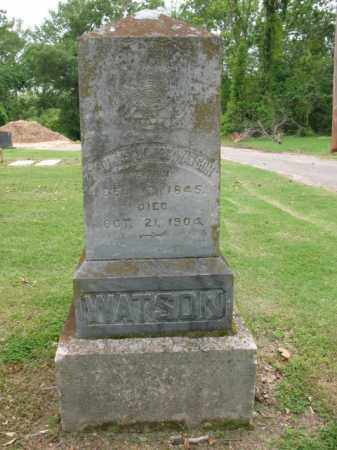 WATSON, THOMAS JAMES - Jackson County, Arkansas | THOMAS JAMES WATSON - Arkansas Gravestone Photos