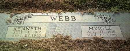 WEBB, MYRTLE - Jackson County, Arkansas   MYRTLE WEBB - Arkansas Gravestone Photos