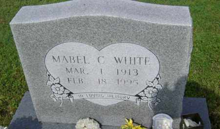 WHITE, MABEL C - Jackson County, Arkansas   MABEL C WHITE - Arkansas Gravestone Photos