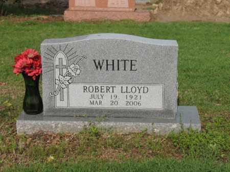 WHITE, ROBERT LLOYD - Jackson County, Arkansas   ROBERT LLOYD WHITE - Arkansas Gravestone Photos