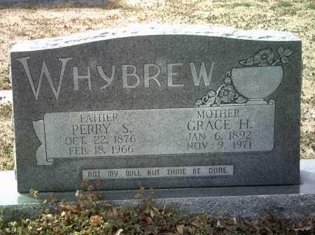 WHYBREW, GRACE H - Jackson County, Arkansas | GRACE H WHYBREW - Arkansas Gravestone Photos