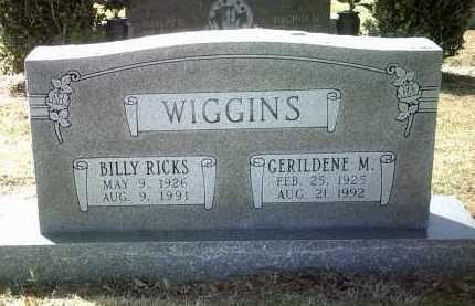 WIGGINS, BILLY RICKS - Jackson County, Arkansas | BILLY RICKS WIGGINS - Arkansas Gravestone Photos