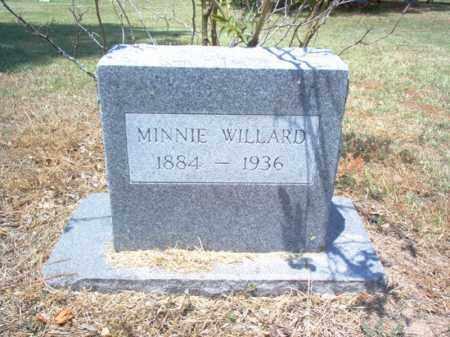 WILLARD, MINNIE - Jackson County, Arkansas   MINNIE WILLARD - Arkansas Gravestone Photos