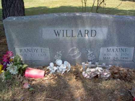 WILLARD, MAXINE - Jackson County, Arkansas   MAXINE WILLARD - Arkansas Gravestone Photos