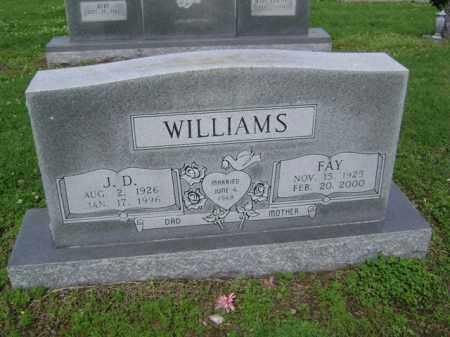 WILLIAMS, J D - Jackson County, Arkansas | J D WILLIAMS - Arkansas Gravestone Photos